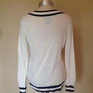 C&C California Sweaters - C&C California V neck sailor sweater